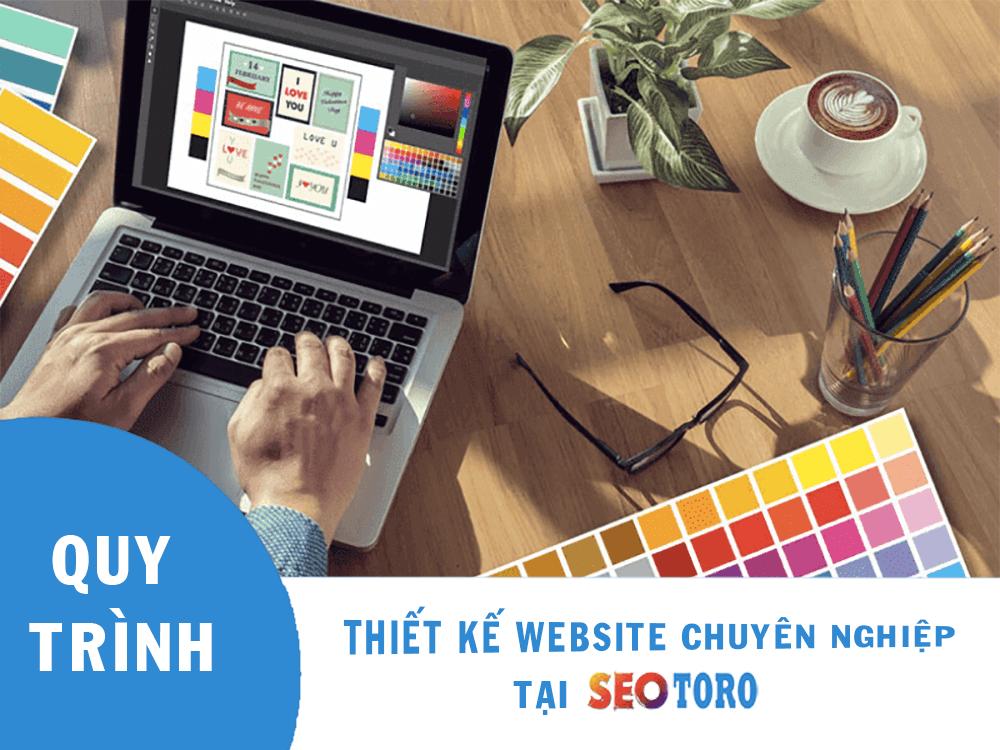 quy trình thiết kế website tại seotoro