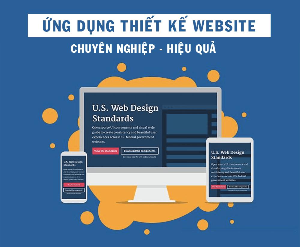 ứng dụng thiết kế website hiệu quả