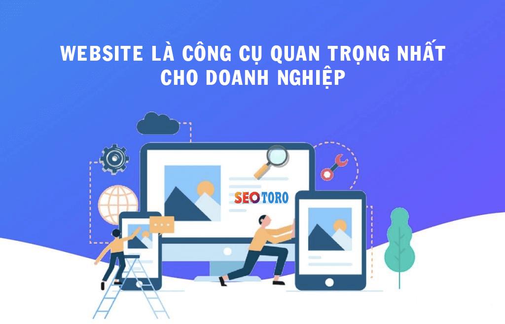 website là công cụ quan trọng của doanh nghiệp