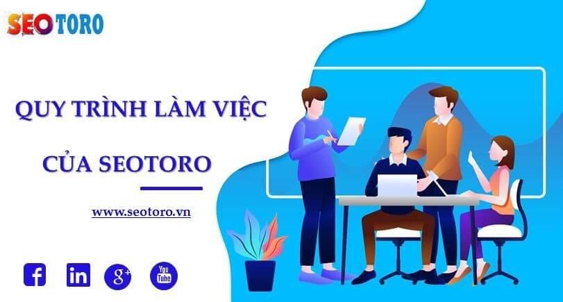 Quy trình làm việc của Seotoro