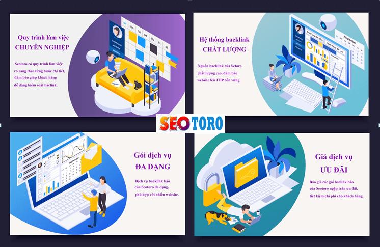 Lý do nên chọn dịch vụ backlink báo của Seotoro