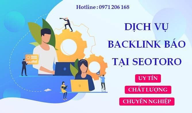 Dịch vụ backlink báo tại Seotoro