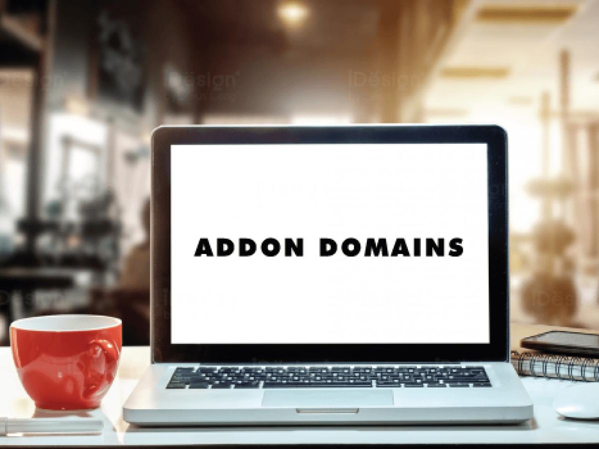 Lý do nên dùng Addon Domain