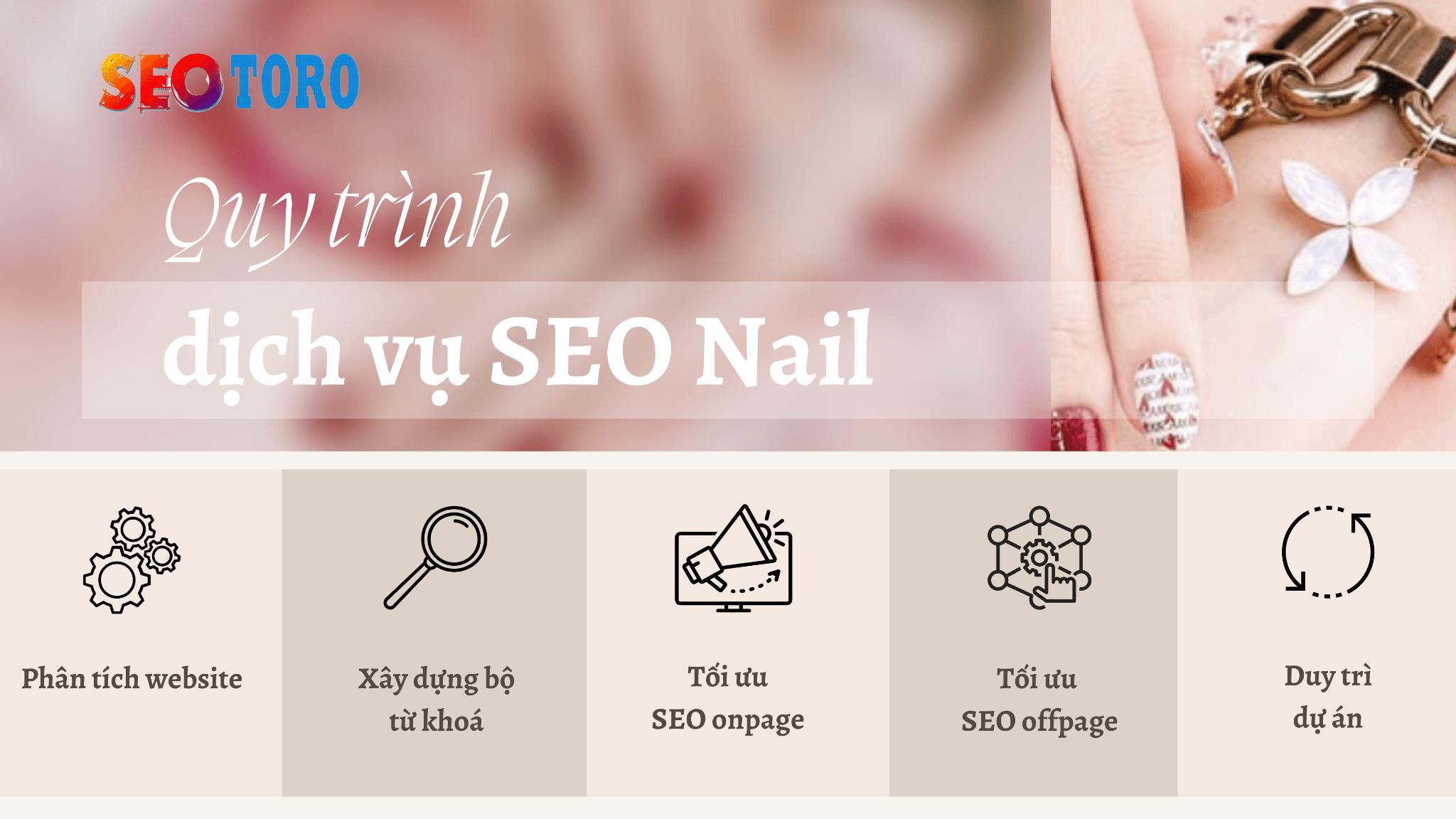 Quy trình tiến hành dịch vụ SEO Nail tại Seotoro